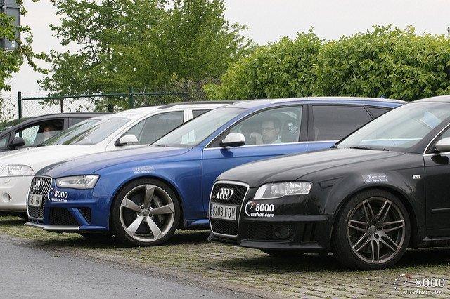 Audi RS4 B7 vs Audi RS4 B8