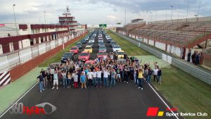 Concentración Nacional Albacete 2015 - Recta grupo