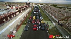 Concentración AudiSport Iberica 2015 Albacete - Recta