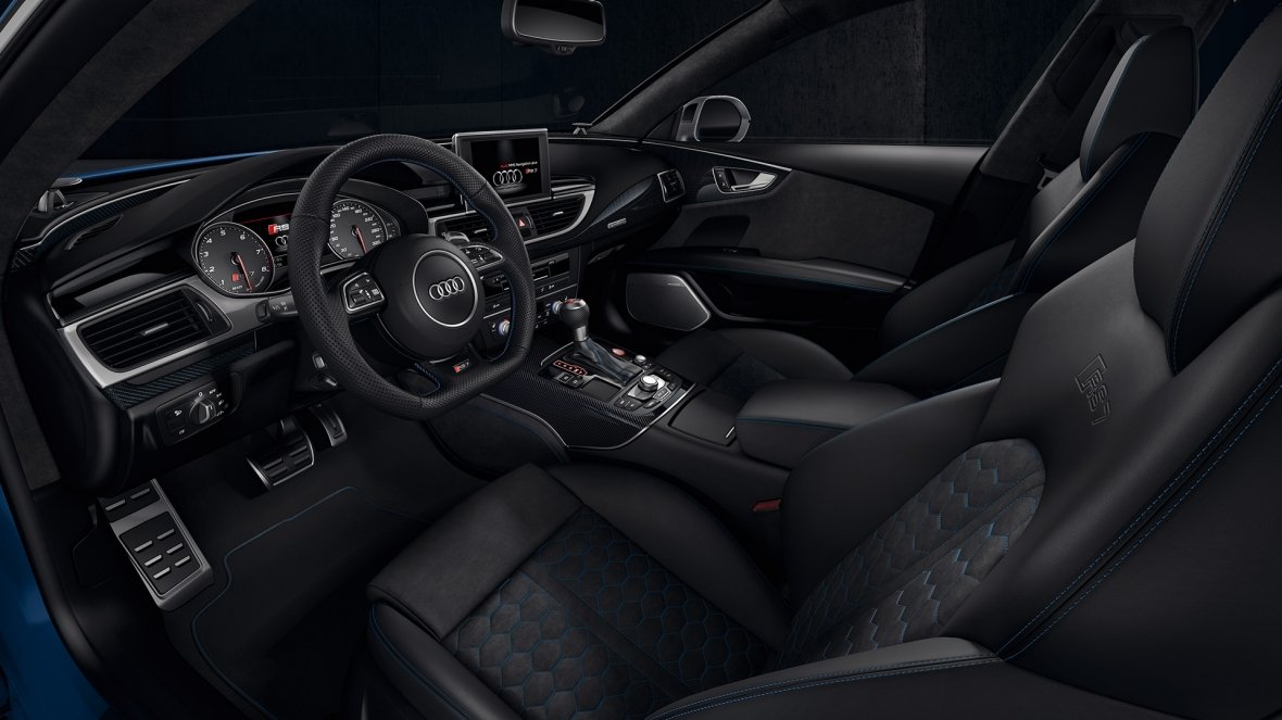 Audi RS7 Performance interior habitáculo
