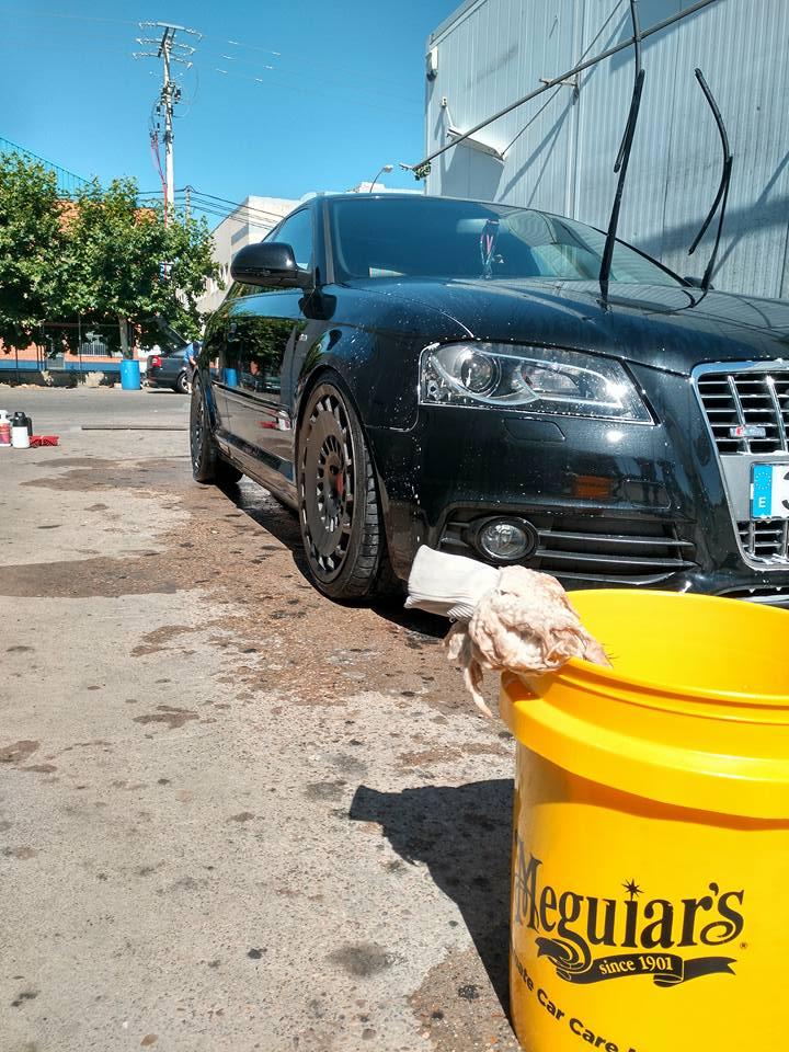 Curso limpieza y detallado Concentración Nacional AudiSport-Ibérica Club