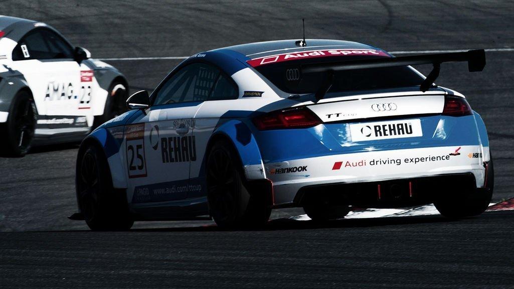 Mikel Azcona Audi Sport TT CUP