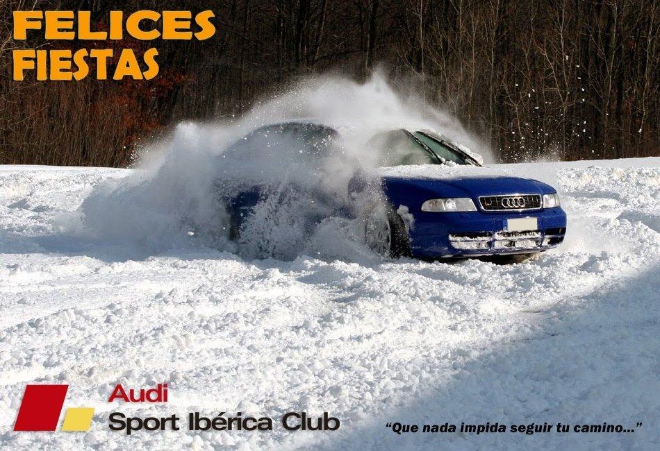 Felices fiestas feliz año Audi AudiSport
